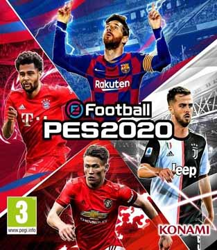 Ps3 eFootball Pes 2020